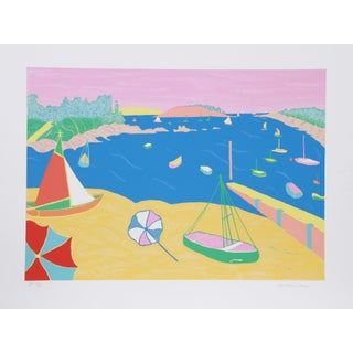 Marion McClanahan - Brittany Beach Lithograph