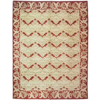 """Arts & Crafts Hand Knotted Area Rug - 7'8"""" X 10'2"""""""