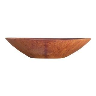 Mid-Century Modern Teak Wood Bowl