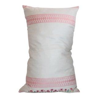 American Floral Tea Towel Pillow