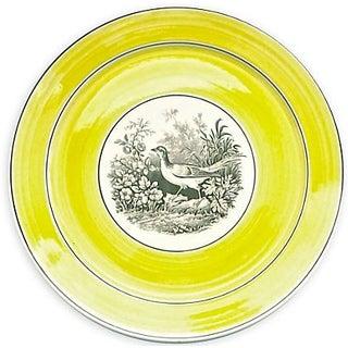 Vintage German Mottahedah Wild Bird Plate