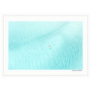 "Gray Malin Large ""Man in Red Shorts, Bora Bora"" (à La Plage) Framed Limited Edition Signed Print"