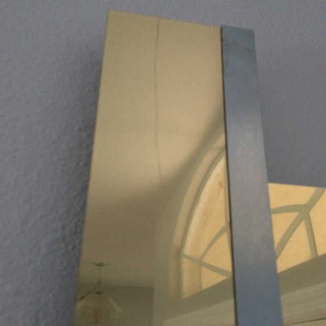 Mid-Century Two Tone Metal Ribbon Sculpture - Image 4 of 9