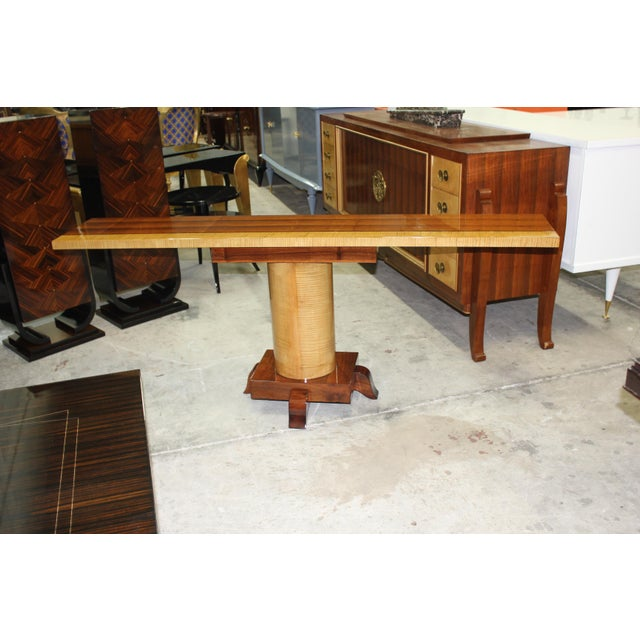 French Art Deco Palisander Console Table - Image 2 of 10
