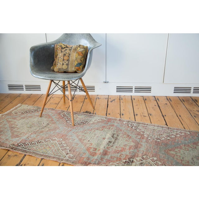 "Distressed Oushak Runner - 2'5"" X 7'5"" - Image 6 of 7"
