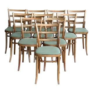 Fritz Hansen Bistro Dining Chairs set of 10