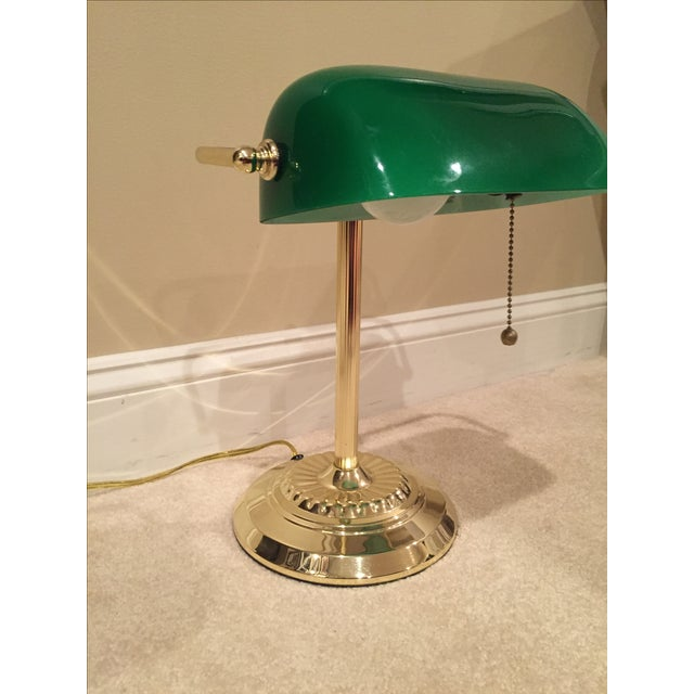 Retro Inspired Brass Desk Lamp - Image 6 of 7
