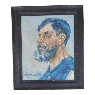 Eastern European Workman Painting