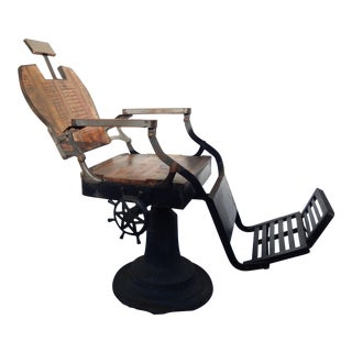 Industrial Steam Punk Barber Chair