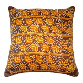 1960s Custom Vera Silk Scarf Pillow