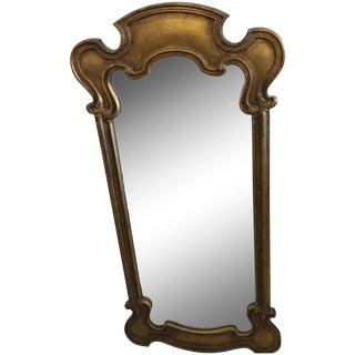 Hollywood Regency Style Gold Mirror