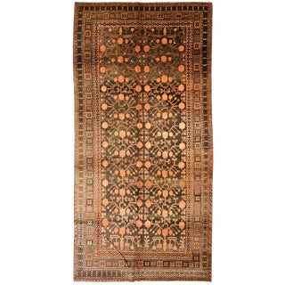 Antique East Turkestan Khotan Gallery Carpet