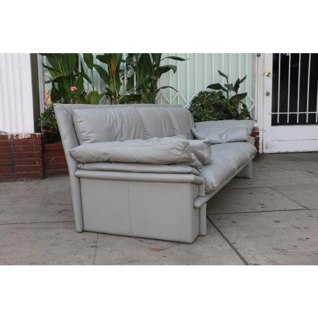 Nicoletti Italian Leather Sofa - Image 7 of 11