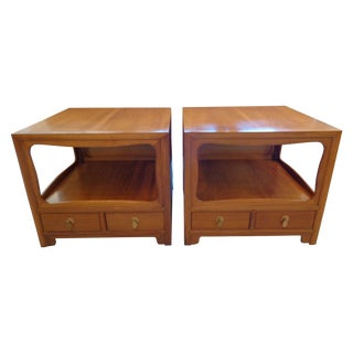 Michael Taylor for Baker Nightstands - A Pair
