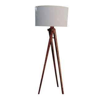 Visual Comfort E.F. Chapman Wood Tripod Floor Lamp