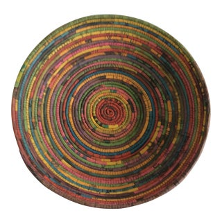 Handmade African Newspaper Bowl