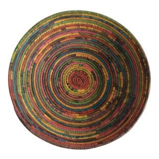 Handmade African Newspaper Bowl