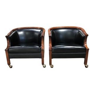 Mid-Century Ralph Morse Lounge Chairs - A Pair