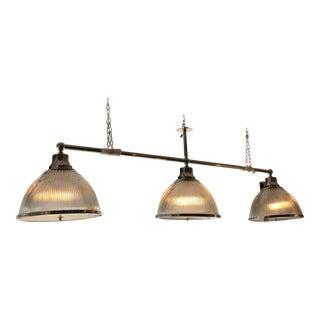 Ann Morris Nickel Billiard Light