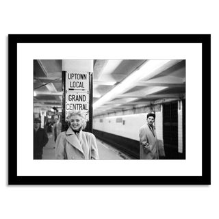 """Marilyn Monroe in Grand Central Station,"" Photo"