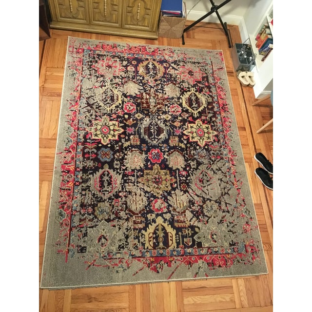 "Solum Grey Area Rug - 6'7"" X 9'2"" - Image 2 of 6"
