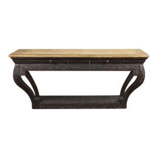 Sarreid LTD Scott Carved Wall Table