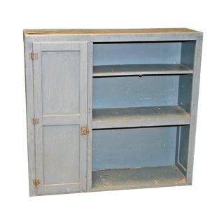 Vintage Solid Wood Distressed Storage Cabinet