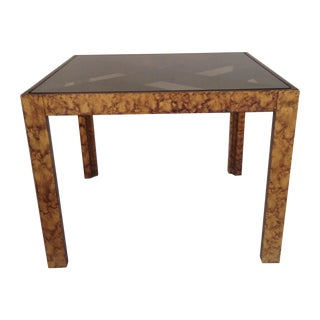 Tommy Parzinger Style Coffee/Side Table