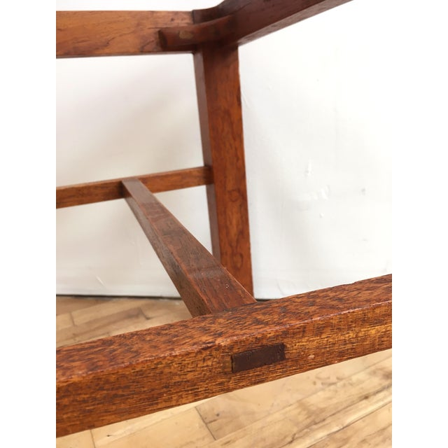 Antique Arts & Crafts Chairs- Hand Caned Craftsman Oak - Image 9 of 11