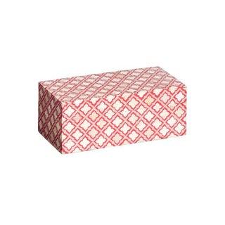 Bone & Resin Large Red Decorative Box