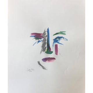 Face 015 Watercolor Painting