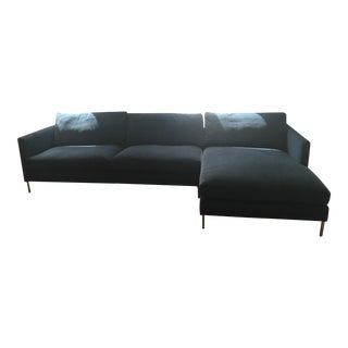 ABC Carpet & Home Navy Sectional