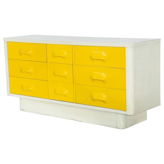 9-Drawer Raymond Loewy-Style Dresser - Image 2 of 6