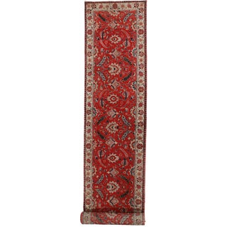 RugsinDallas Antique Persian Tabriz Runner - 3′1″ × 19′