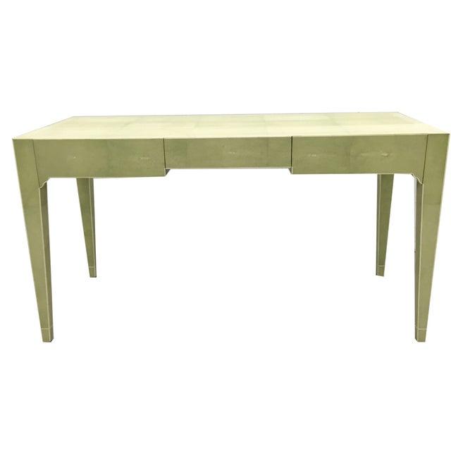 Image of Garrison Rousseau Shagreen Writing Table Desk