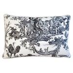 Image of Custom Cowtan & Tout Le Brun Toile Pillow