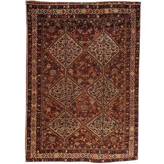 Antique 19th Century, Persian Qashqai Carpet