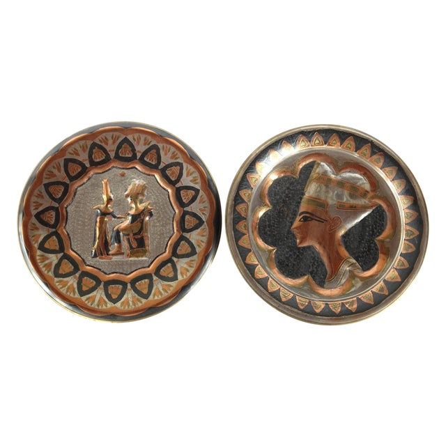 Decorative Egyptian Wall Plates - Image 1 of 10