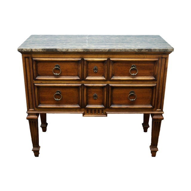 Ethan Allen Tuscan Bonner Tables- A Pair - Image 1 of 4