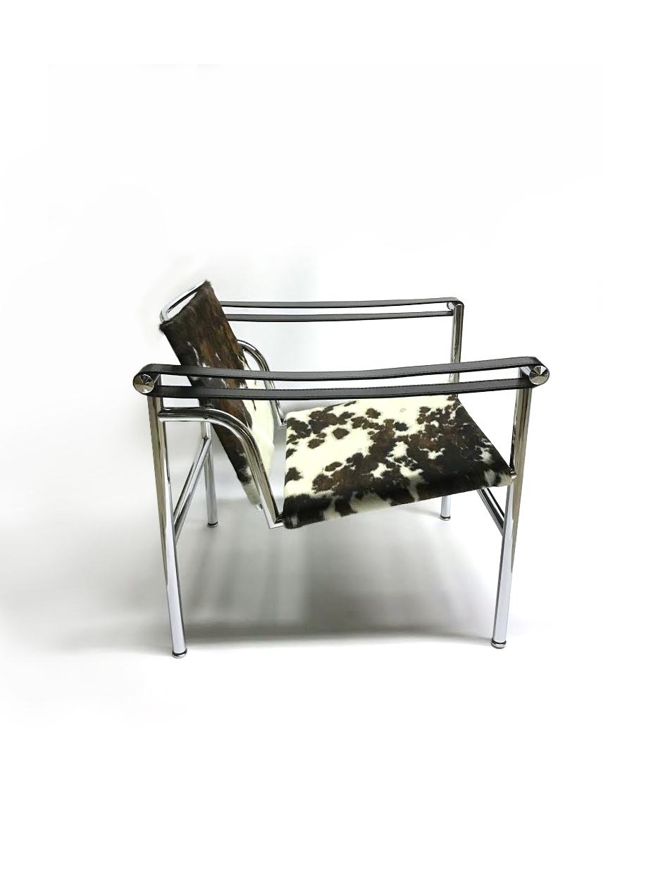 LC1 Cowhide Sling Chair   Image 3 Of 6