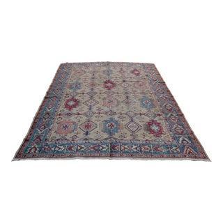"Oriental Multi-Color Turkish Oushak Rug Carpet - 10' x 6'9"""