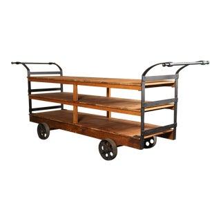 Dept. 87 Rolling Display Cart