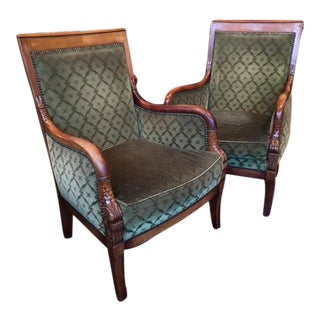 Pair of Empire Bergeres