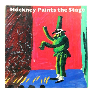 Hockney Paints the Stage, First Edition