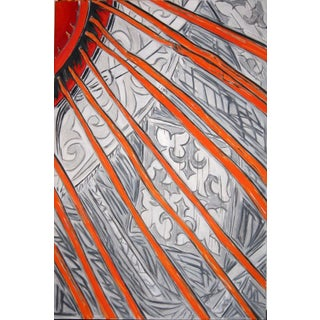 """""""Yurt"""" Abstract Interior Painting by Trixie Pitts"""