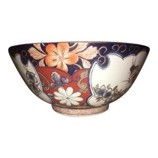 Antique Imari Punch Bowl