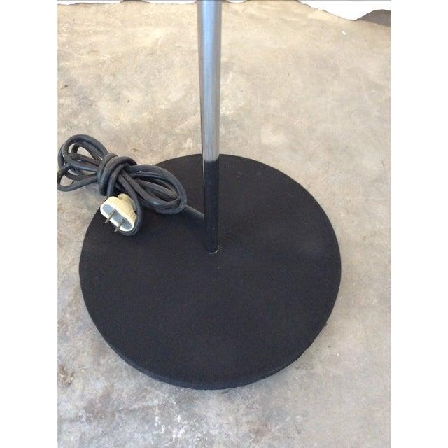 Image of Mid-Century Modern Sonneman Chrome Floor Lamp