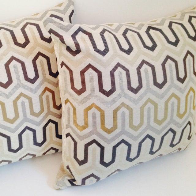 Mod Deco Pillows - Pair - Image 3 of 5