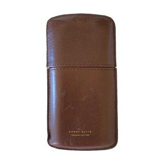 Perry Ellis Leather Cigar Case