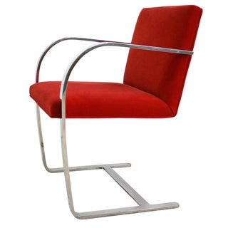 Mies Van Der Rohe BRNO Flat Bar Armchair 6 Avail.